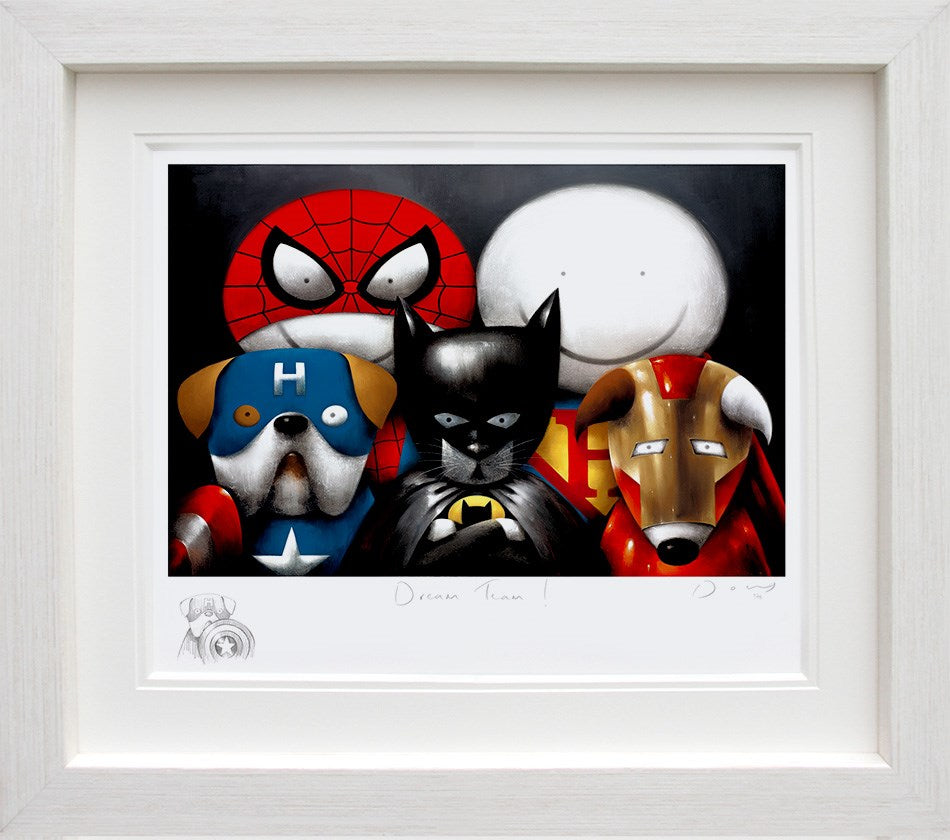 Dream Team! (Remarque) by Doug Hyde