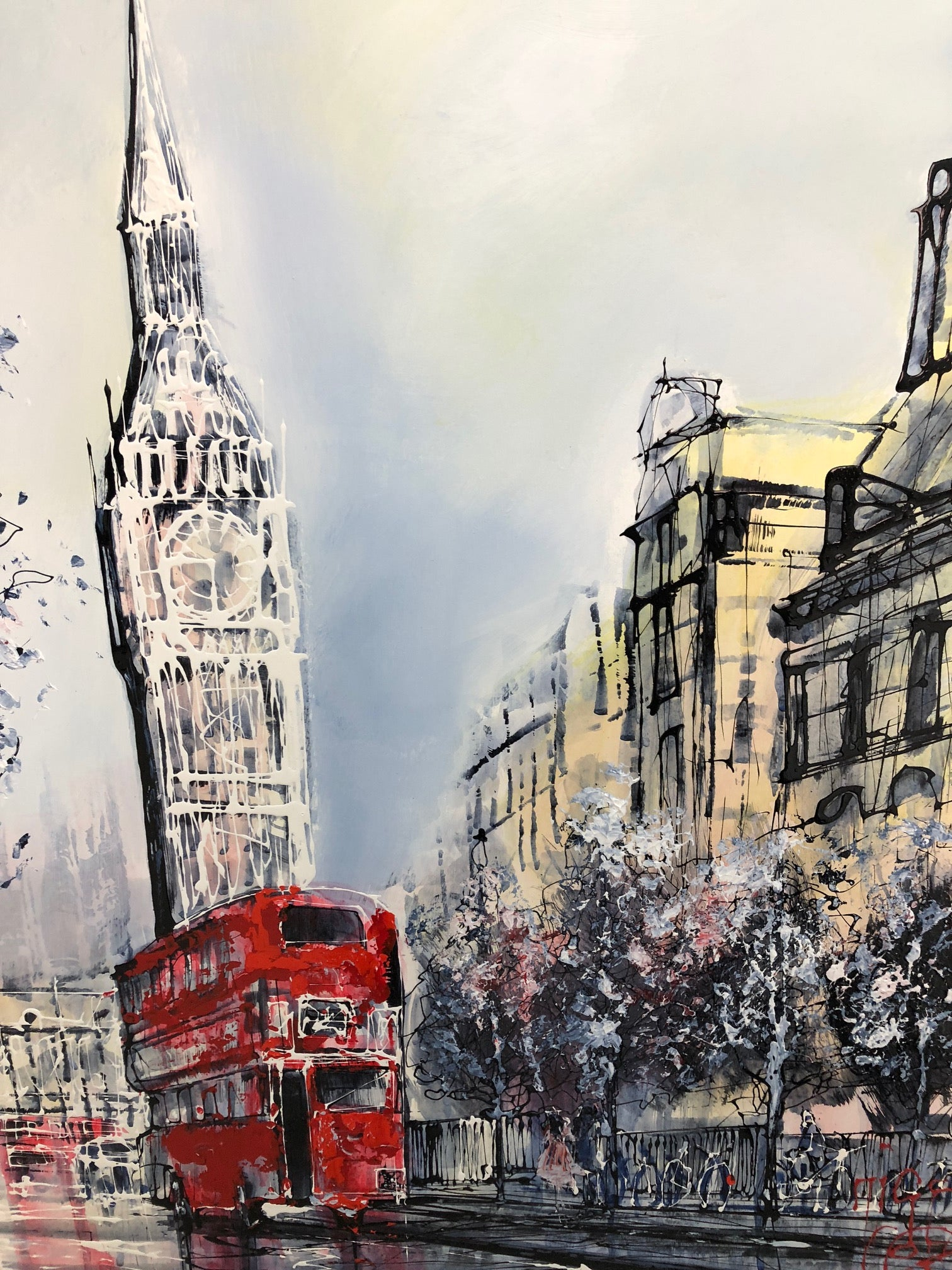 Westminster View by Nigel Cooke