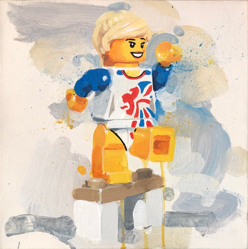 Team GB Lego Gymnast by James Paterson
