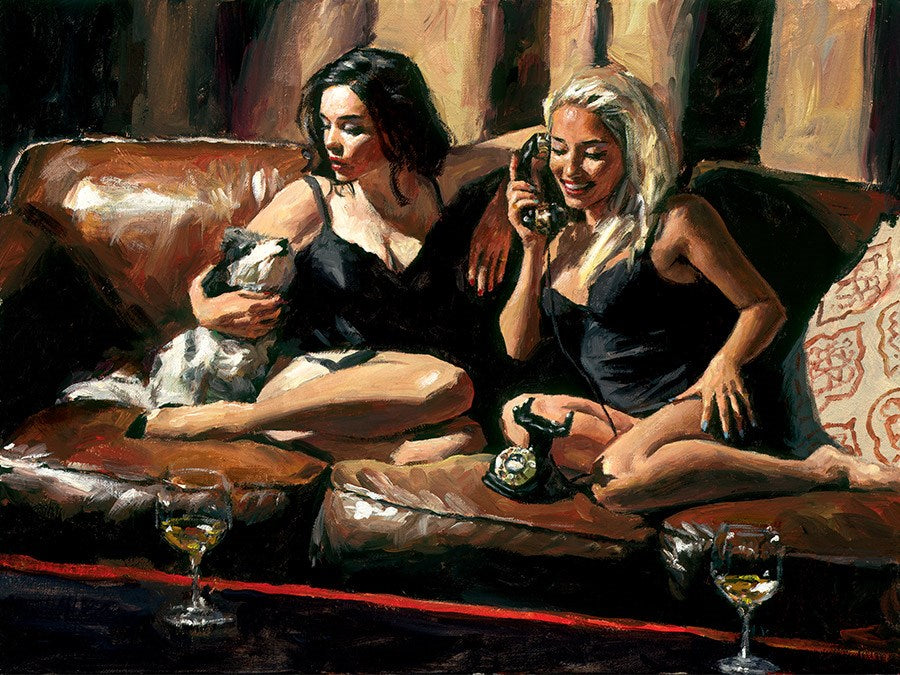 Eugie and Geo II by Fabian Perez