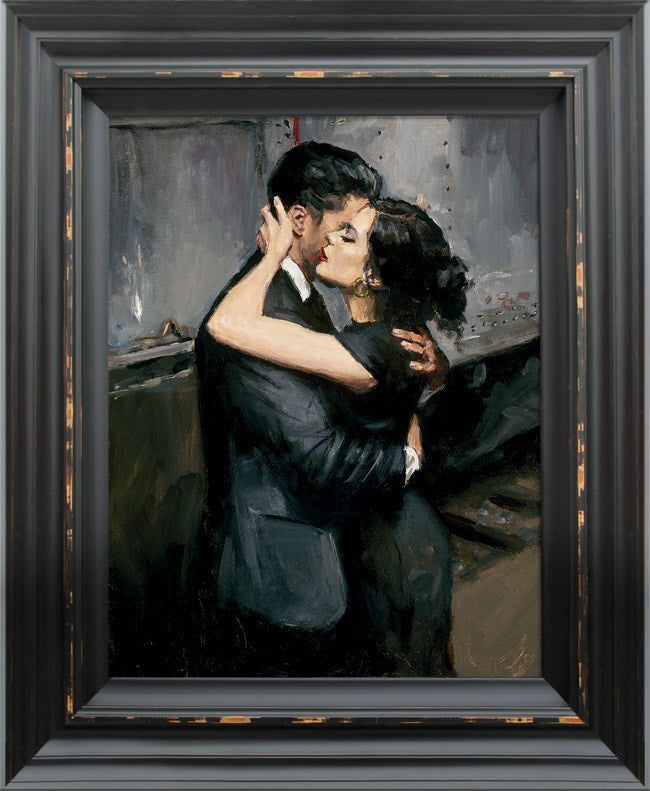 The Train Station VII by Fabian Perez