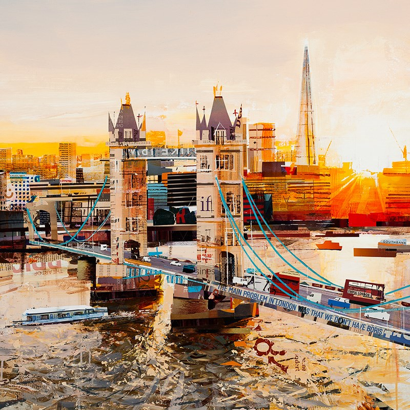 Sunbeams, Tower Bridge by Tom Butler