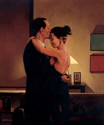 Betrayal-No Turning Back by Jack Vettriano