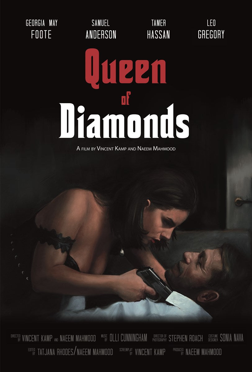 Queen of Diamonds by Vincent Kamp