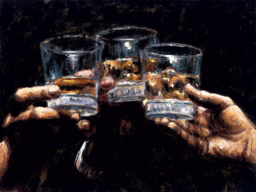 Study for Whiskey by Fabian Perez