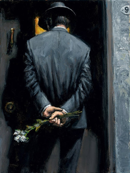 Surprise at Moonlight by Fabian Perez