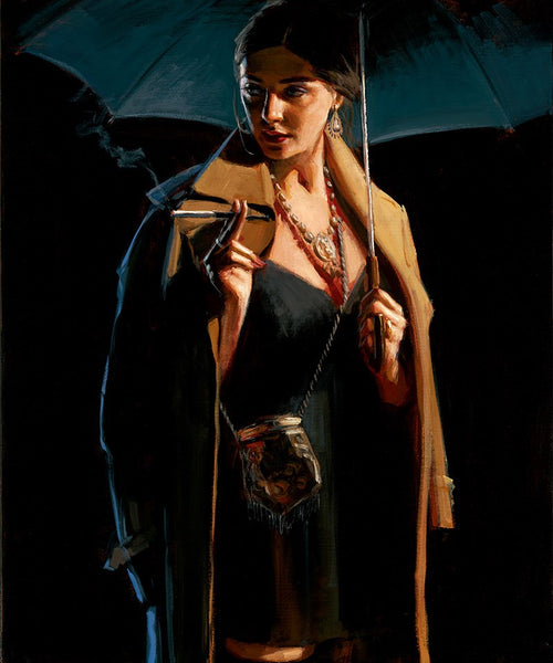 November Rain - Lucy by Fabian Perez