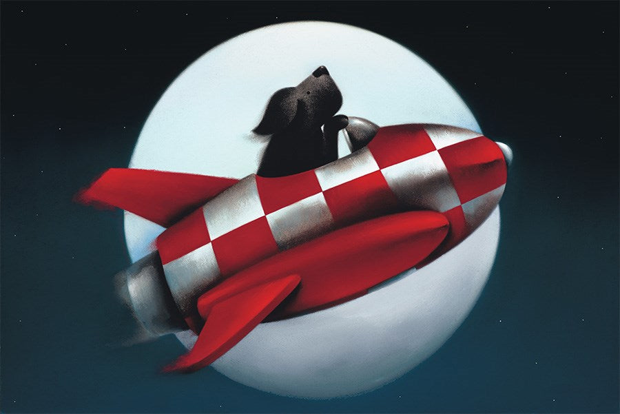 The Moon and Back by Doug Hyde