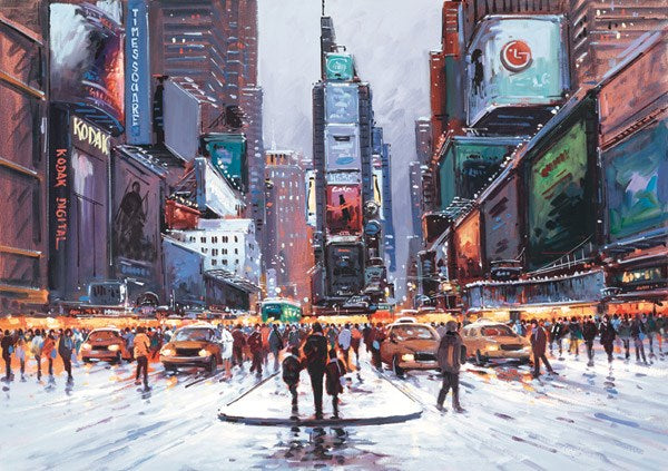 Times Square at Twilight by Henderson Cisz