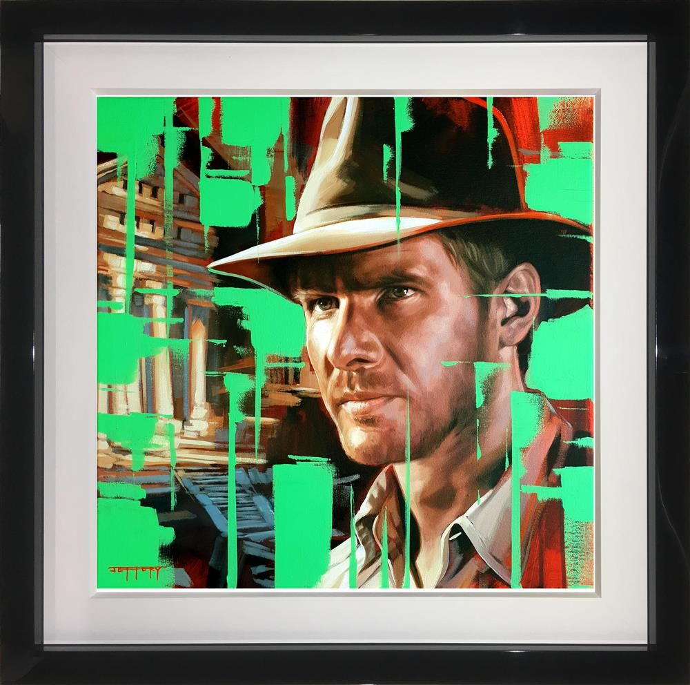 Indiana Jones by Ben Jeffery