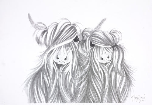 Love is Me & Moo by Jennifer Hogwood