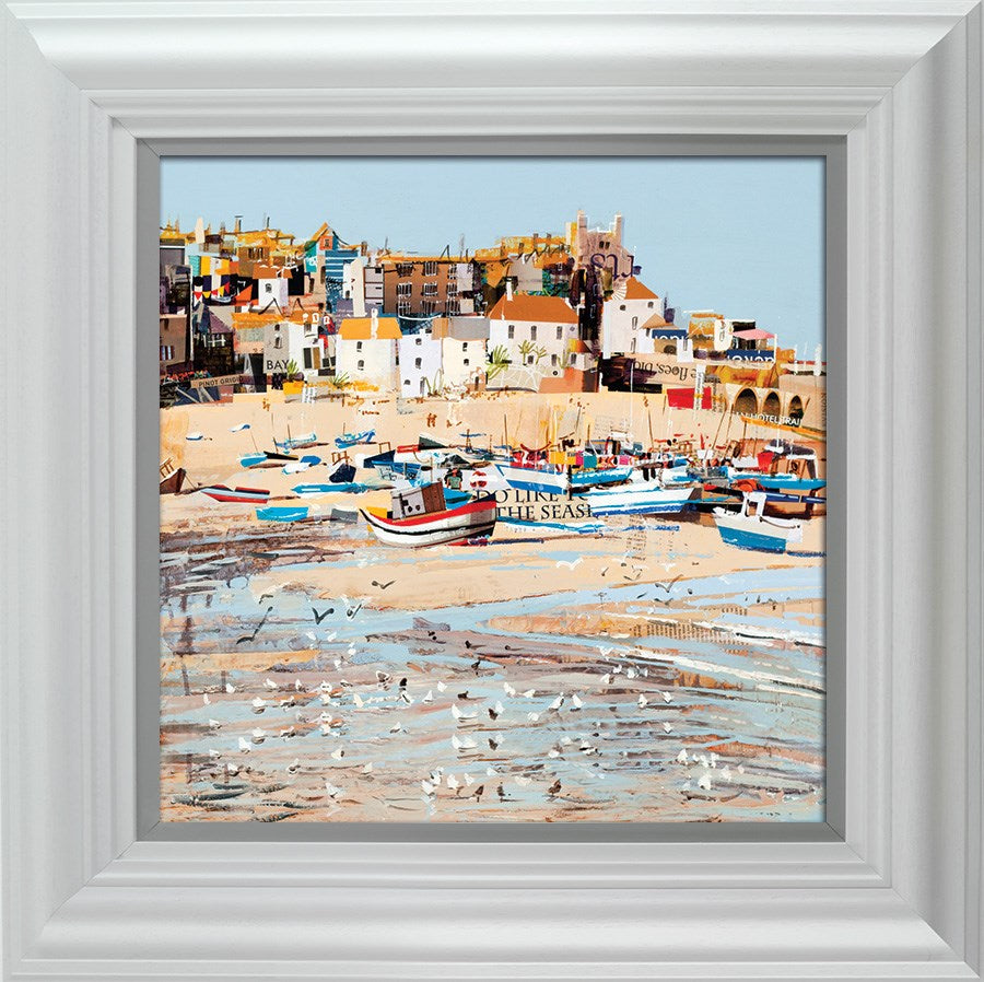 Low Tide, St Ives Bay by Tom Butler