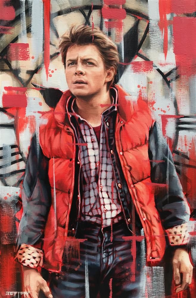 Marty McFly by Ben Jeffery