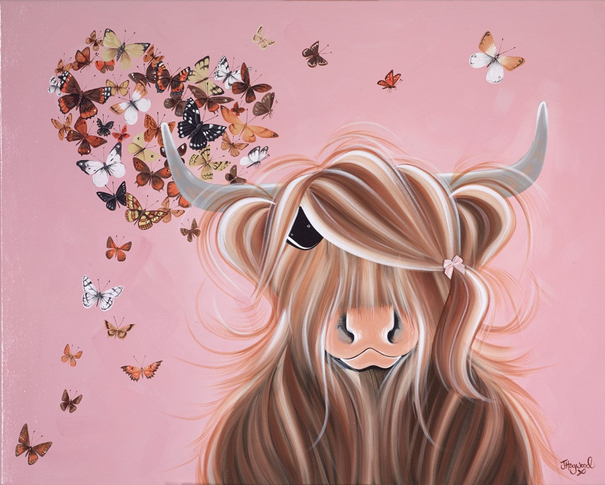 Moo Gives Me Wings by Jennifer Hogwood