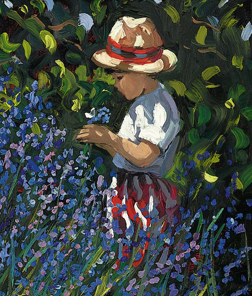 Picking Bluebells by Sherree Valentine Daines