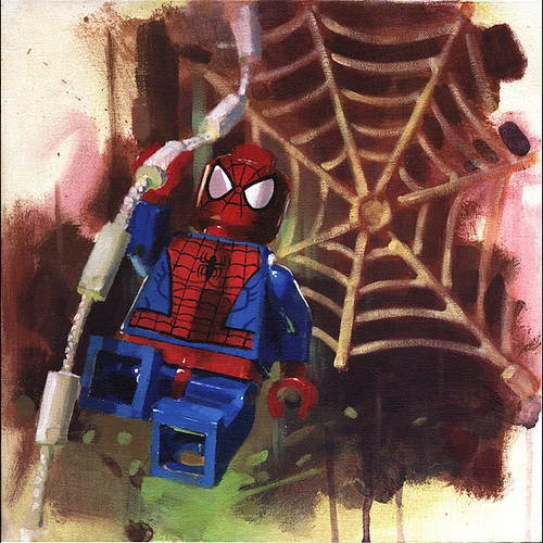Spiderman by James Paterson