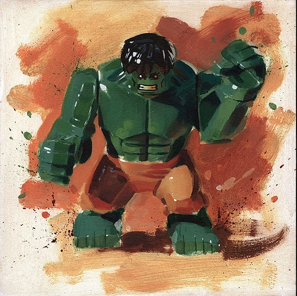 Hulk by James Paterson