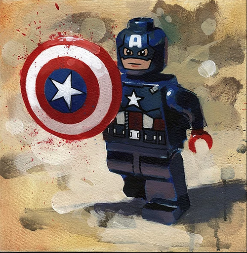 Captain America by James Paterson