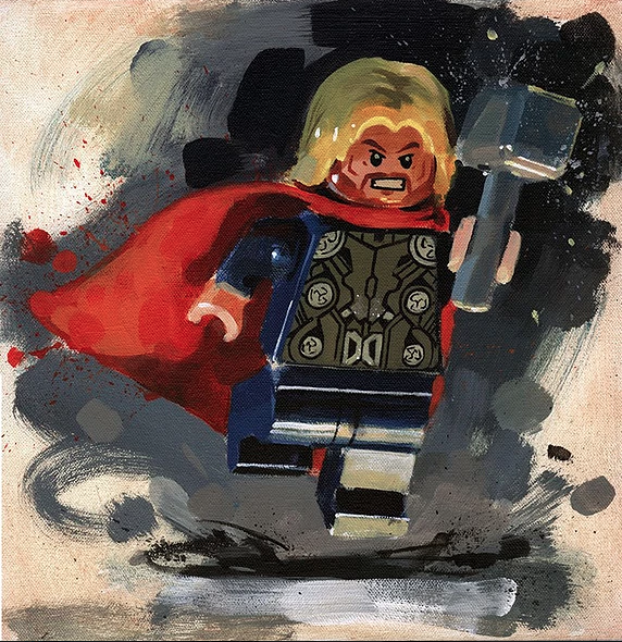 Thor by James Paterson