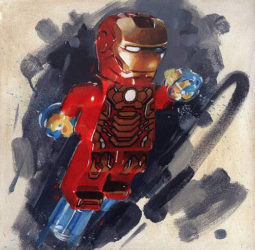 Iron Man by James Paterson