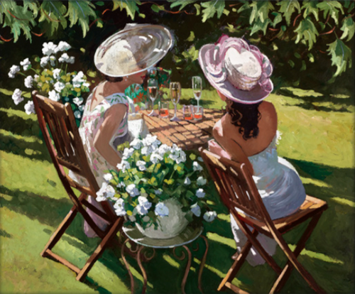 Champagne Celebration by Sherree Valentine Daines