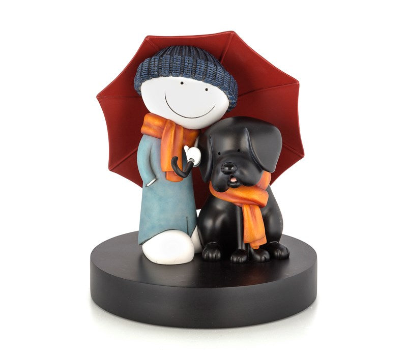 Showered with Love Sculpture by Doug Hyde