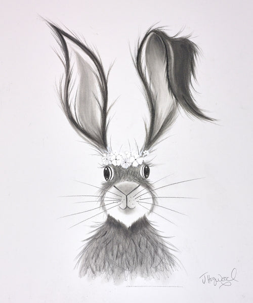 Sunny Summer Hare by Jennifer Hogwood