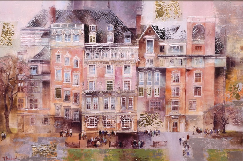 Pastel Streets - London by Veronika Benoni