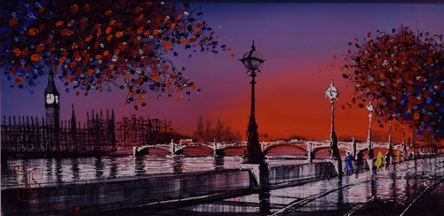 Westminster Sunset by Nigel Cooke