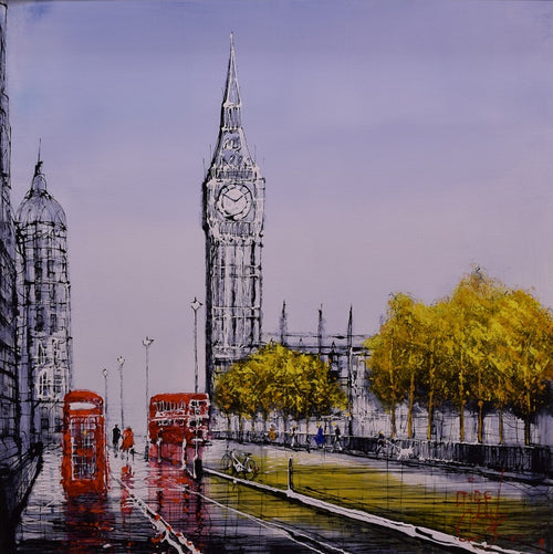 Westminster Walk by Nigel Cooke