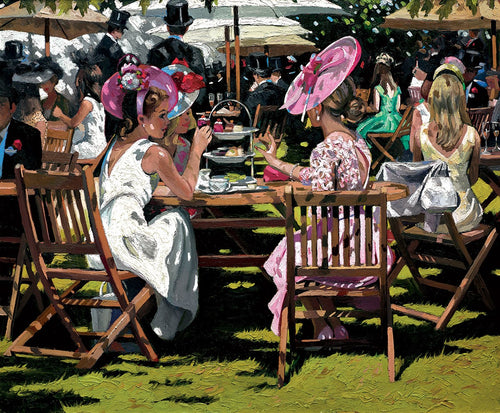 Afternoon Tea at Ascot by Sherree Valentine Daines