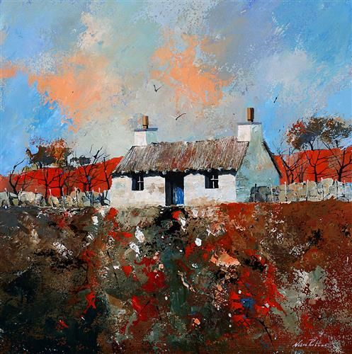 Croft House South Uist by Nick Potter