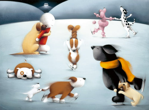 Dancing On Ice by Doug Hyde