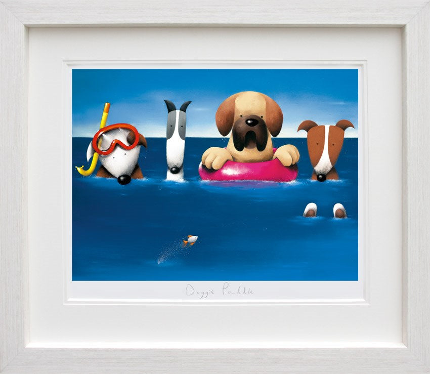 Doggie Paddle by Doug Hyde