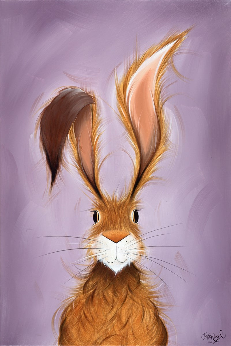 Hatty Hare Original by Jennifer Hogwood