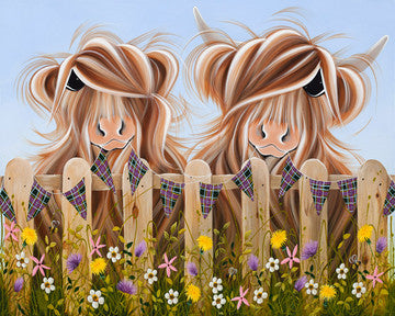 Highland Moo by Jennifer Hogwood