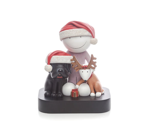 Ho Ho Ho Sculpture by Doug Hyde