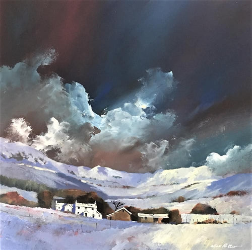 Wild Winter Stormy Sky by Nick Potter