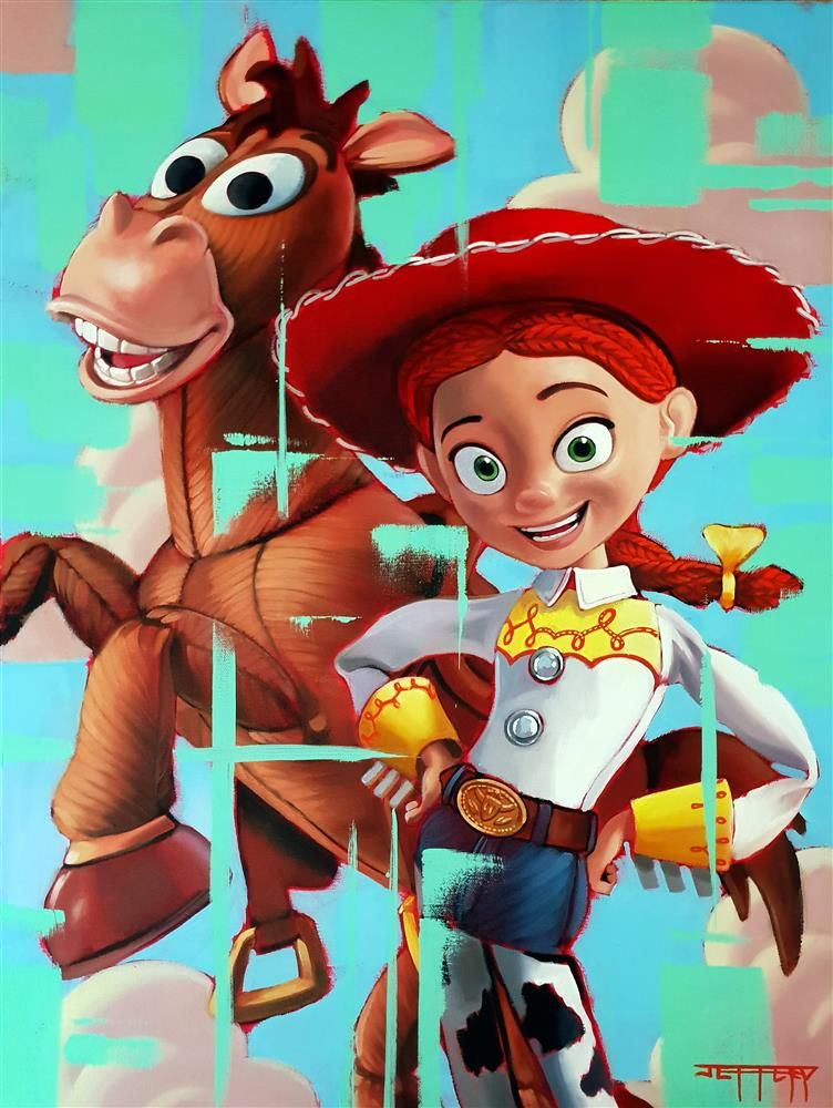 Jessie & Bullseye by Ben Jeffery