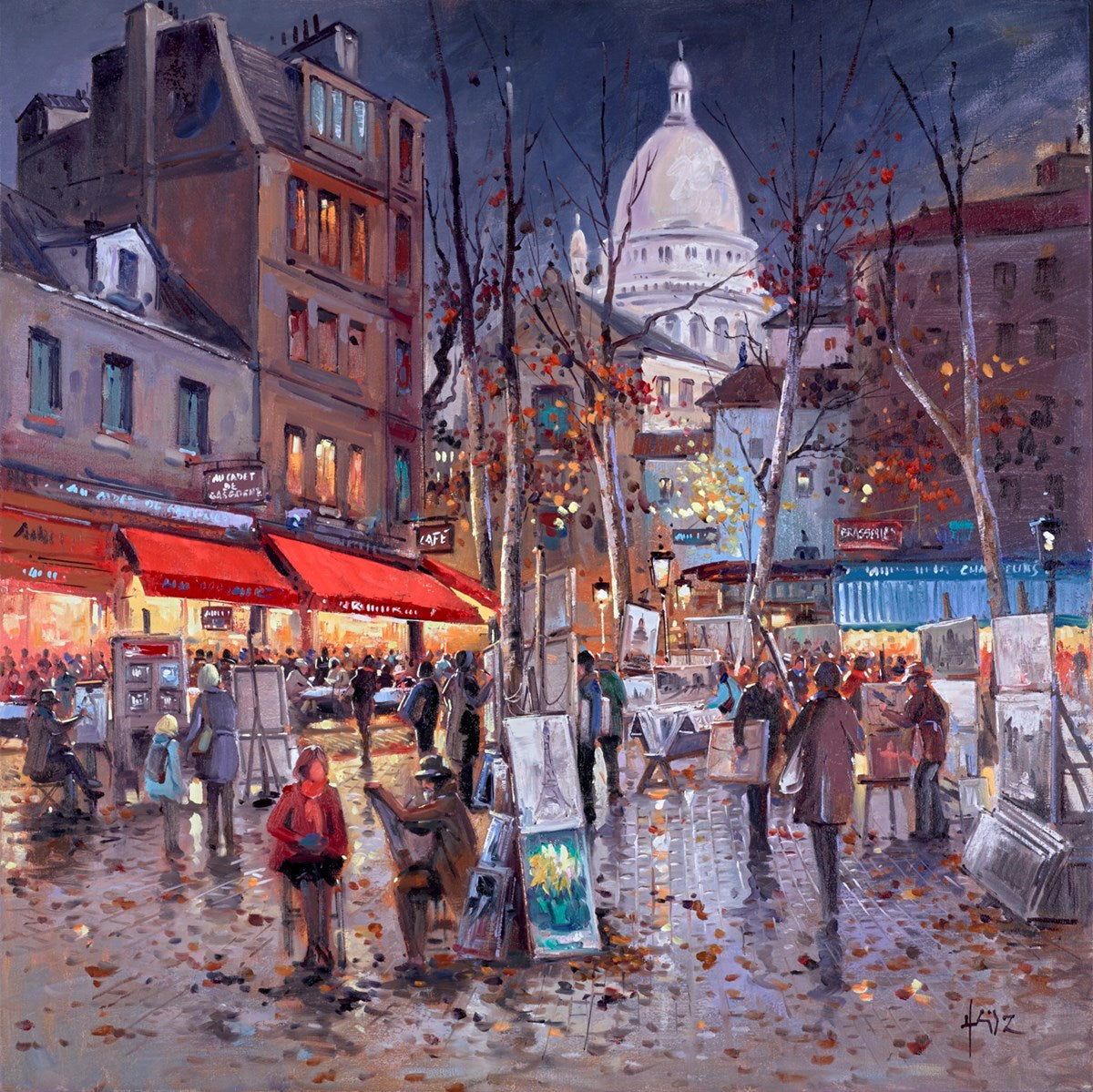 Parisian Painter by Henderson Cisz
