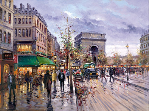 Postcard from Paris from Paris by Henderson Cisz