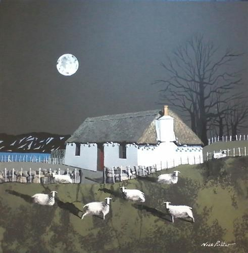 Thatched Croft Skye by Nick Potter