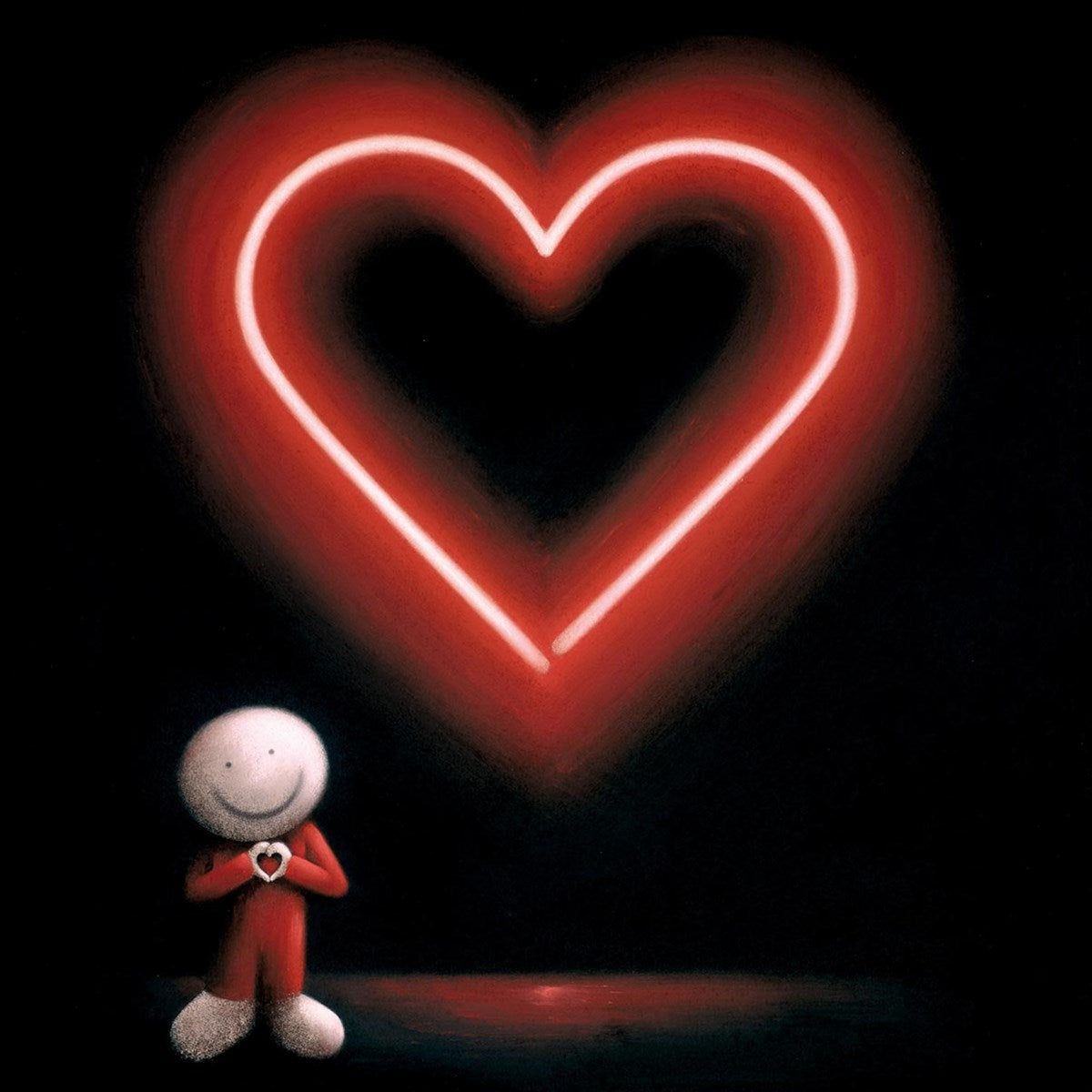 The Message of Love by Doug Hyde