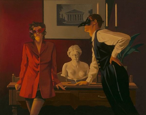 The Sparrow and the Hawk by Jack Vettriano