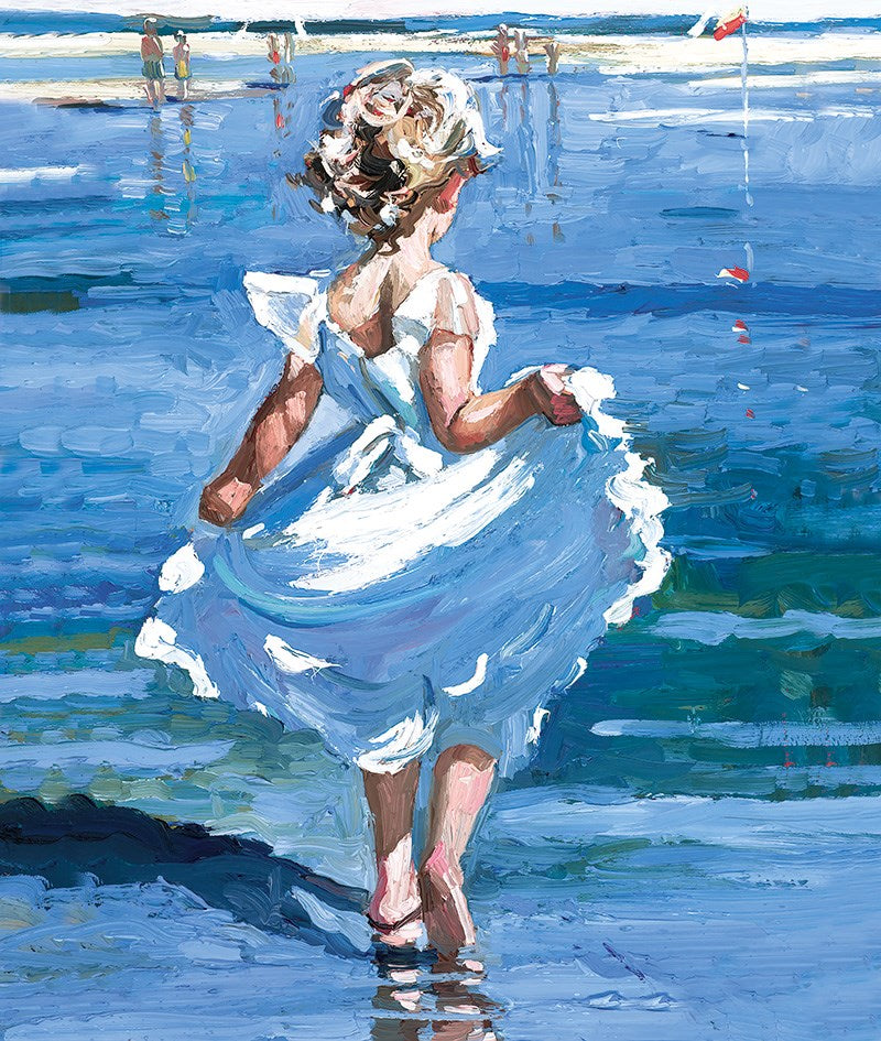 Walking in the Shallows by Sherree Valentine Daines