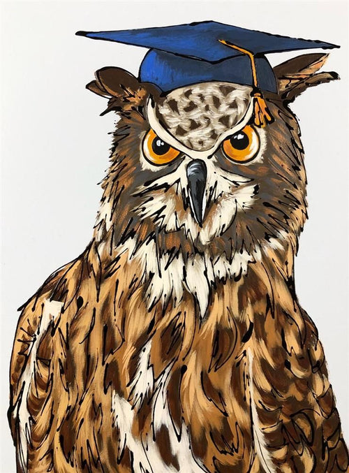 Wise Old Owl by Amy Louise