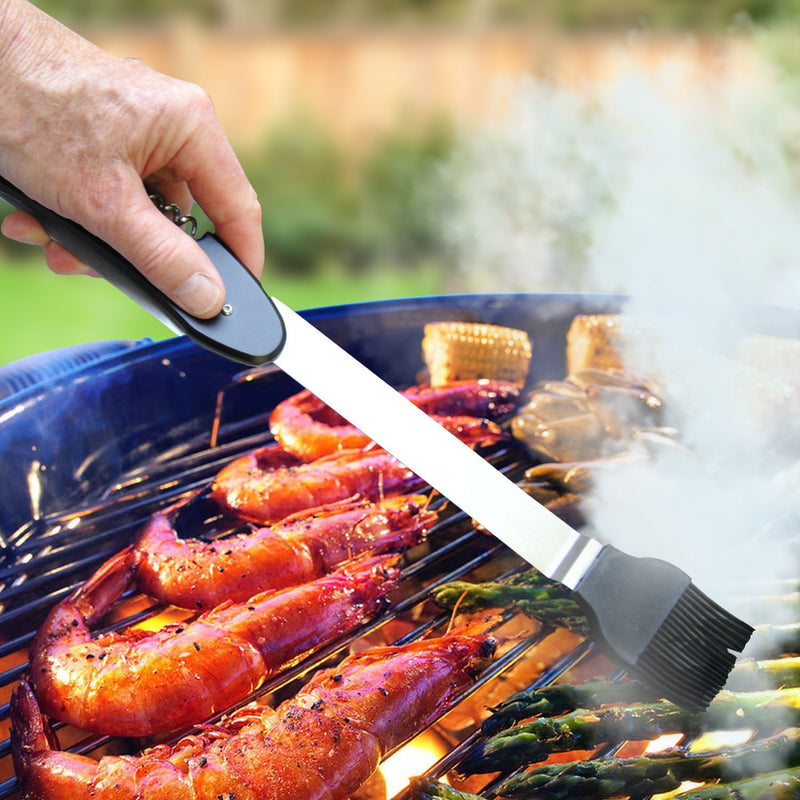 Folding 6-in-1 Grill Tool