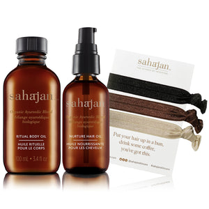 The Bliss Kit- The Body and Hair Oil Duo