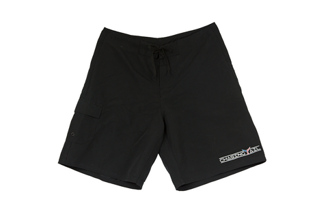 American Tail Black Board Shorts