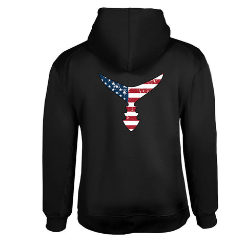 Unisex American Flag Tail Perfomance Hoodie